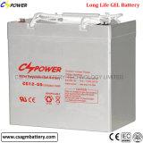 12V 55ah Vrije Batterij van het Onderhoud van het Gel de Navulbare
