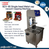 Tampa de Metal de cabeça única máquina de nivelamento de vácuo para vinagre (BZX-65)