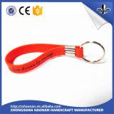 Pvc Keychain van de Verkoop van de fabriek met het Embleem van het Ontwerp van de Douane