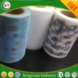印刷されたループ魔法の正面テープ/大人のおむつの原料