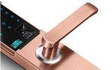 Serratura di portello domestica astuta dell'hotel della tastiera elettrica dell'impronta digitale della scheda di V9 RFID