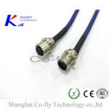 2, 3, 4, 5, 6, 8, 12, 17 гнездо штепсельной вилки фланца Pg9 Pin M12 с кабелем