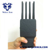 Emittente di disturbo tenuta in mano del segnale di WiFi Lojack GPS del cellulare delle 8 fasce (con il caso di nylon)