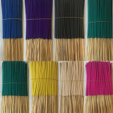10,5 pouces bâton Encens naturel de couleur noir violet bleu vert jaune rouge de l'Encens Stick