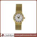ステンレス鋼の女性クォートの腕時計