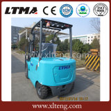 Caminhão de Forklift elétrico ambiental de 3 toneladas com bateria