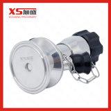Válvula asséptica sanitária farmacêutica da amostra do aço inoxidável do VSA