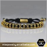 Nen Distanzstück-Raupe-umsponnenes Armband, Armband Msbb026 Anil-Arjandas