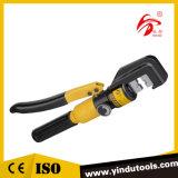 ひだが付く範囲6~70mm (YQK-70)が付いている油圧圧着工具