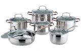 Commerce de gros des ustensiles de cuisine en acier inoxydable de haute qualité Stew pot avec couvercle