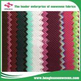 De Kleurrijke Niet-geweven die Stof van pp in Fujian Provincie, China wordt gemaakt