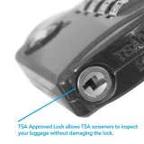 Tsa genehmigte Kombinations-Gepäck-Verschluss – Vorwahlknopf 4