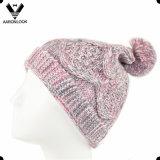 Jogo de confeção de malhas do inverno de Lenço Chapéu Headband 3PCS da senhora