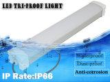versione standard di lumen dell'alluminio LED dell'indicatore luminoso della Tri-Prova di 0.6m 20W IP66 dell'indicatore luminoso pratico impermeabile del negozio per il parcheggio
