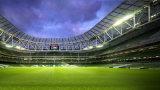 Césped artificial del uso de largo plazo ambiental del fútbol