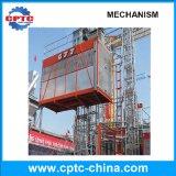 Motor de la construcción de sección del mástil de elevación grúa eléctrica