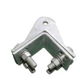 Les Clips métalliques des câbles souche de type Vis Câble métallique