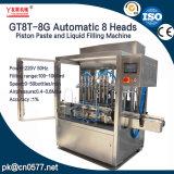 Automatische het Vullen van het Deeg van 8 Hoofden Machine voor de Saus Gt8t-8g1000 van de Spaanse peper