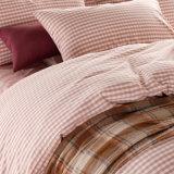 中国製昇進のコテッジピンクの綿の寝具