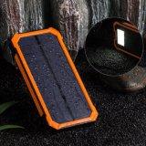 Épreuve solaire 8000mAh de l'eau de côté portatif d'énergie solaire de pile solaire