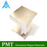 N52 de Magneet van het Neodymium van het Blok van 50*50*12.5 met Permanent Magnetisch Materiaal