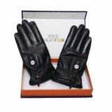 Far-infrared Heizungs-echte lederne Handschuhe für Männer im Winter