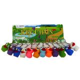 Commerce de gros de jouets en plastique personnalisé trousseau