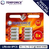 batteria a secco dell'accumulatore alcalino di 1.5V Digitahi con BSCI (LR03-AAA 12PCS)