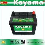 75D26r-Mf Ns70-MF 12V65ah norma JIS bateria de carro
