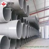 El abastecimiento de agua de alta presión del PVC transmite la instalación de tuberías de PVC-U