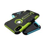 iPhone x를 위한 1개의 Kickstand 기능 전화 상자에 대하여 2