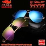 Lunettes de soleil polarisées par protection de Madame Semi-Sans monture UV de la mode A309