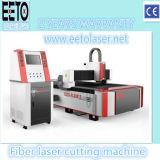machine de découpage de laser de fibre de la commande numérique par ordinateur 1500W pour le CS Alu en métal solides solubles