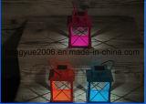 고품질 새로운 디자인 온난한 백색 경경 LED를 가진 태양 거는 손전등 태양 손전등