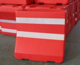 PE el tráfico de material flexible barrera barrera de seguridad vial