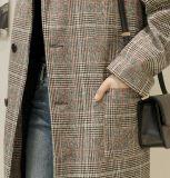 Износ горячей решетки пальто британца ворота костюма способа сбывания 2017 наружный