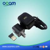 Mini Bluetooth tipo scanner senza fili dell'anello di Ocbs-R01 1d del codice a barre