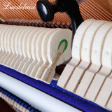 Preto piano vertical acústico-123b3, instrumento musical, provenientes da China Factroy
