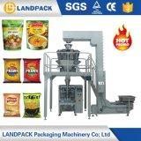 O malote automático soprou petiscos do alimento/pipoca/máquina do acondicionamento alimentos da salmoura