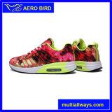 Архив красочный стиль пару спортивную обувь с воздушной подушкой