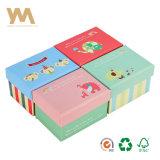 Impresos personalizados envases de cartón Caja de regalo con tapa