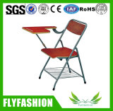 Venta caliente Traing plegable silla con panel de escritura (SF-33F)