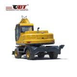 Obt 8675 Mini Excavadora de ruedas tipo Precio con descuento