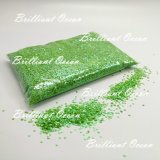 500g/Bag de groene Kunst van de Spijker van de Schoonheid van de Ster schittert de Decoratie van de Kunst van de Spijker van Stukken