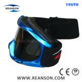 Occhiali di protezione di riciclaggio di motocross personalizzati formato della gioventù