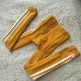 Van Katoenen van de Kinderen van jonge geitjes Beenkappen de Verticale Terry Knitted van Strepen Volledige (TA510)