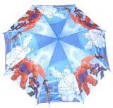 カスタムプリント傘のマンガのキャラクタOEMの子供の傘の安い子供の昇進の傘