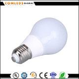 Bulbo de Aluminum+Plastic 7W A60 LED con Ce