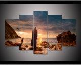 Het frame Spel van Af:drukken HD 5PCS van de Kunst die van het Canvas van Daenerys Targarye van Tronen het Moderne Beeld van de Kunst van de Muur van het Landschap van het Decor van het Huis schilderen