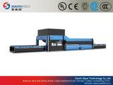 Cadena de producción de cristal de doblez curvada cruz del endurecimiento de Southtech (HWG)